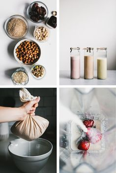A Guide to Homemade Nut & Seed Milks