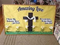spring bulletin board ideas for church
