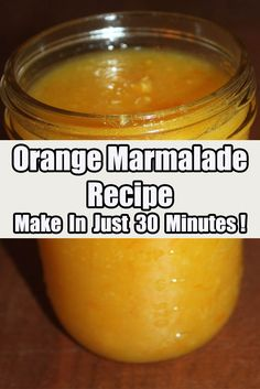 Homemade Orange Marmalade Recipe – Ready To Enjoy In Just 30 Minutes! Homemade Orange Marmalade Recipe, Orange Jam Recipes, Marmalade Jam, Home Canning Recipes, Canning Vegetables, Jelly Recipes, Yummy Recipes, Recipe Ready, Recipes