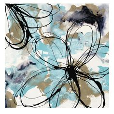 Free Flow II  Art Print  by Natasha Barnes