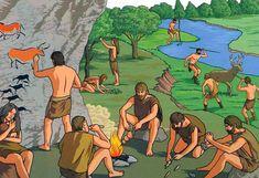 dibujos de prehistoria