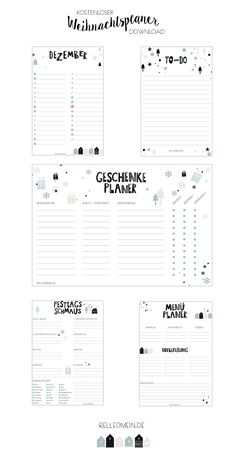 Best Totally Free christmas planner printable Suggestions Have you been ready to begin with with printable planner inserts? If you're new to printables or s Christmas Planner Free, Free Christmas Printables, Free Printables, Christmas Time, Christmas Crafts, Christmas Decorations, Merry Christmas, Handmade Journals, Printable Planner