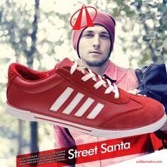 Jaman sekarang, Santa mulai menginspirasi fashion cowok. Terutama yang gemar tampil trendy di bulan Desember. Selain diet habis-habisan agar langsing dan sixpack, para fashionable Santa muda juga bergaya street!#ARDILESsneakers #sepatuARDILES #sepatu #casual #jalanjalan #exploreindonesia #adventure #sneakers #ARDILES #indonesia #surabaya #jakarta