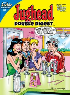 "Read ""Jughead Double Digest by Various available from Rakuten Kobo. This Double Digest features OVER 140 PAGES of content, including Jughead's cousin, That Wilkin Boy! Archie Comics Strips, Archie Comics Characters, Archie Comics Riverdale, Pop Art, Old Comics, Vintage Comics, Jughead Comics, Comic Book Covers, Comic Books"