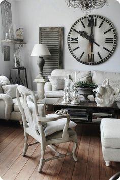 Toves Sammensurium: K og ka og qué. Shabby Chic Grey, Shaby Chic, Room To Grow, Diy Furniture Projects, Living Room Grey, Shabby Chic Furniture, Apartment Living, Decoration, House Design