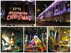 Selfridges & Co. impressive Christmas display! #WindowDisplays #DestinationChristmas