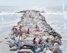 """Massimo Vitali, il fotografo delle spiagge: """"Nei miei scatti c'è l'Italia degli ultimi vent'anni"""""""