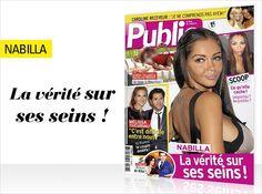 Cette semaine en couverture de Public : Nabilla, la vérité sur ses seins !