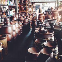 The Pottery Fest at Kasongan Village, Bantul, Yogyakarta