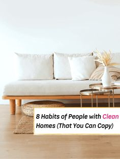 Have you ever gone to visit a neighbor and been surprised by how tidy their home was? The carpet was pristine, there were no cobwebs, and compared to your own house, it looked like a model home. You might feel a little discouraged when you go to visit someone who can tidy up better than... Read More » The post 8 Habits of People With Really Clean Houses appeared first on Everything Abode. Essential Oils For Sleep, Mind Relaxation, Productive Things To Do, Before Bed, Under The Table, Bedroom Plants, Tidy Up, Home Hacks, Model Homes