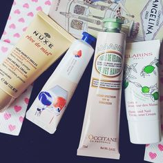 my hand creams for that spring and summer