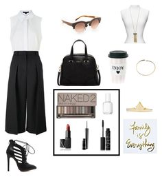 """""""Untitled #210"""" by cat2800 ❤ liked on Polyvore featuring Alexander Wang, Erdem, Furla, NARS Cosmetics, MAC Cosmetics, Urban Decay, Essie, Dylan Gray, Maison Margiela and 3.1 Phillip Lim"""