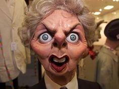 Spitting Image - Margaret Thatcher (Maggot Scratcher)