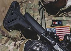 The Magpul UBR 2.0 Collapsible Stock