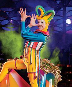 Cirque du Soleil - I love acrobats and performers, nothing beats a live show