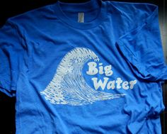 Big Water Great Wave Tee