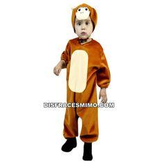 DisfracesMimo, disfraz de mono barato infantiles para niños y niñas bt 89061.Este comodísimo