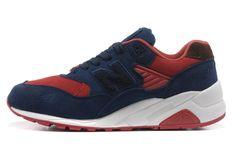 2013 nueva receta auténtica del NewBalance la versión Edison 580 hombres coloridos Serie NB y zapatos de mujer