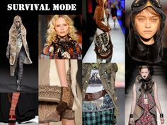 Fall/Winter 2011-12 Trend Board: Survival Mode