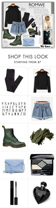 """ROMWE 11"" by annna-136 ❤ liked on Polyvore featuring H&M, Dr. Martens, Zara, Anja, Bobbi Brown Cosmetics, Apt. 9, Christian Dior, Gucci, Lipsy and Elizabeth Arden"