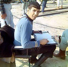 Star Trek Prop, Costume & Auction Authority: Leonard Nimoy: 1931 - 2015 Part II Star Trek Spock, Star Wars, Star Trek Tos, Star Trek Original Series, Star Trek Series, Leonard Nimoy, Scene Image, Scene Photo, Deep Space Nine