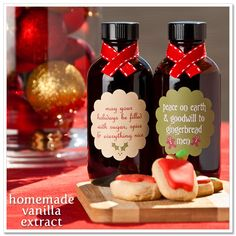 christmas vanilla gifts :)