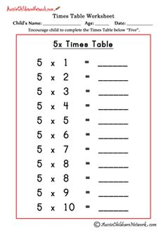 1000 ideas about times tables worksheets on pinterest times tables printable multiplication. Black Bedroom Furniture Sets. Home Design Ideas