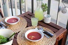 Délicieux gaspacho maison – Ally Bing Ramen, Ethnic Recipes, Food, Gazpacho, Vegetarische Rezepte, Eat, Recipes, Eten, Meals
