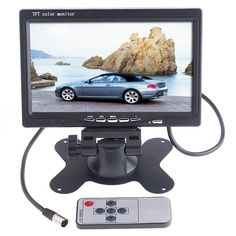 """The #CarRearviewMonitor with 7"""" LED Backlight Color. High-resolution picture. Full color LED backlight display. Come on and have a try! http://www.tomtop.cc/IzE3Ub"""