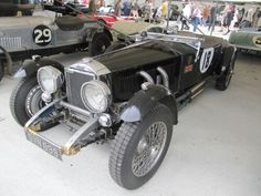 1932 Invicta S type low chassis at GR 2015
