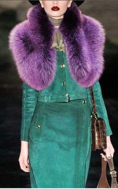 Love a colored fur