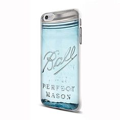 Ball Mason Jar for Iphone and Samsung (iPhone 6 white)