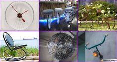 22 Soluzioni Creative per Riciclare Parti di Biciclette
