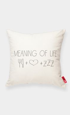 meaning of life: food + love + sleep :)