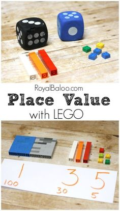 LEGO Place Value – An Introduce to Place Value