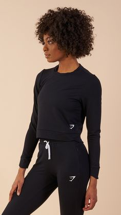 The women's Solace Sweater is made from a fabric like no other – when you feel it, you'll know. Coming soon in Black.