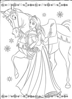 Disney Coloring Pages Printables, Disney Princess Coloring Pages, Disney Princess Colors, Disney Colors, Coloring Book Art, Fairy Coloring, Colouring Pages, Coloring Pages For Kids, Sleeping Beauty Coloring Pages