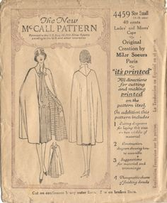 McCall 4459