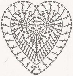 :: Lacre, CD e Crochê ::: CORAÇÃO - CORAZÓN - HERZ - HEART - COEUR - SERDTSA...