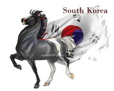 Horsetalia:  South Korea by Moon-illusion