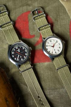 The Military Watch by Timex + Todd Snyder Timex Military Watch, Military Style Watches, Cool Watches, Watches For Men, Men's Watches, Camera Watch, Field Watches, Watches Photography, Todd Snyder