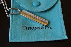 "Tiffany & Co. 1837 Bar Pendant Necklace 18"" - silver 925 - http://elegant.designerjewelrygalleria.com/tiffany/tiffany-co-1837-bar-pendant-necklace-18-silver-925/"