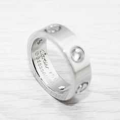 Cartier Love Ring, Rings Online, White Gold Rings, Buy Now, Valentines, Stuff To Buy, Jewelry, Valentine's Day Diy, White Gold Wedding Rings