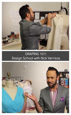 Did you know Nick Verreos, celebrity fashion designer and former contestant of Project Runway, has his own TV Show on YouTube? So cool! And he gives great sewing tutorials and advice. Here are some of my favorites that he does on draping. Draping 101 – Design School with Nick Verreos How to Drape on a Dress Form: Design School with Nick Verreos   How To Drape a Basic Darted Bodice: […]