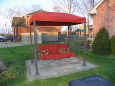 Our Canopy And Cushion Replacements Are Custom Made To Fit Your Patio Swing Contact Coverore Order Or Learn More