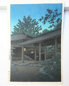 Kawase Hasui : Japanese Woodcut prints | eBay