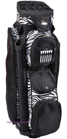 Ha ha ha, yes! Ladies Boutique Golf Bags Cart Bag Zebra New 2013 Womens Golf Bag  http://ftnsonline.com/ladies-boutique-golf-bags-polka-dots-cart-bag-womens-golf-bag-new/#