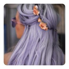 #purple #hair #colour #hairstyle #summerlook