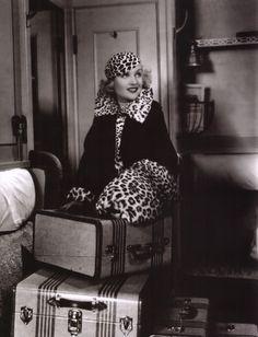 """Carole Lombard en """"La Comedia de la Vida"""" (Twentieth Century), 1934"""