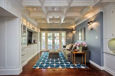 Miller Kitchen/Family Room Remodel - traditional - family room - san francisco - Leslie Ann Interior Design